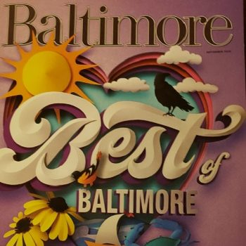 Best of Baltimore 2020 Cover